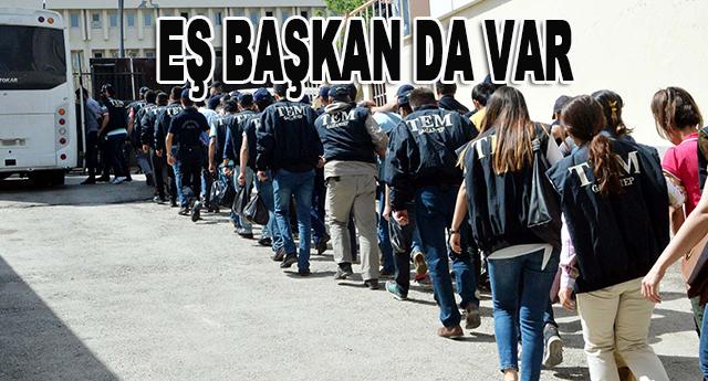 DBP il başkanı dahil  17 kişi tutuklandı