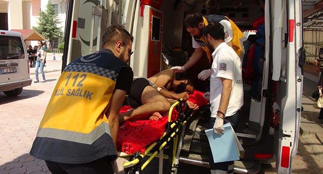Çatışmalarda yaralananlar tedavi altında