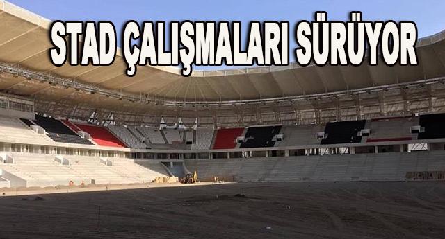 Arena stadının yüzde 90'ı tamamlandı