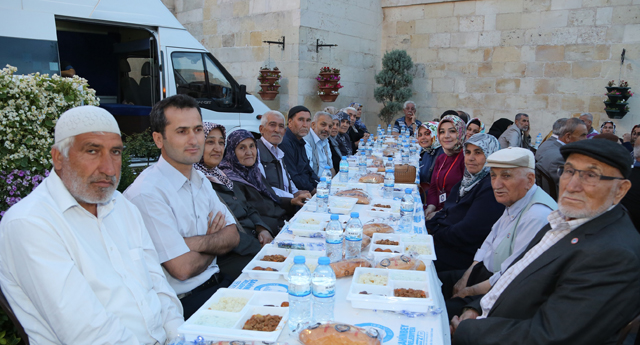 Şehreküstü'de iftar vakti