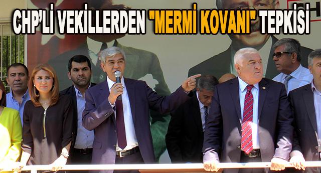 CHP'li vekiller kınadılar