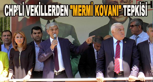 CHP balkondan kınadı