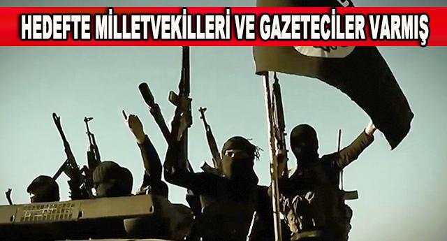 IŞİD'İN SUİKAST LİSTESİ