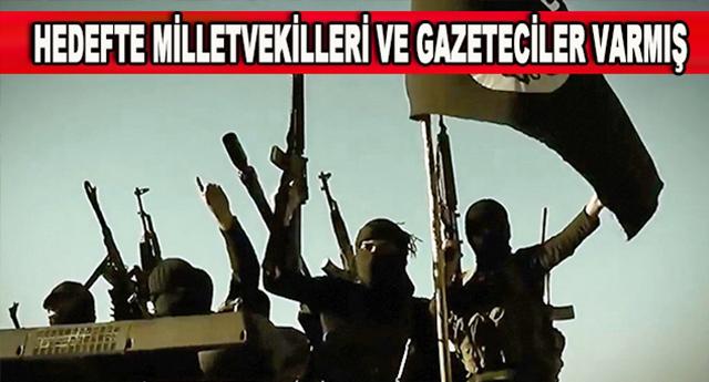 IŞİD'in hedefinde kimler varmış