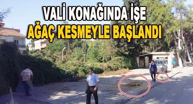 VALİ KONAĞI BOŞALTILDI