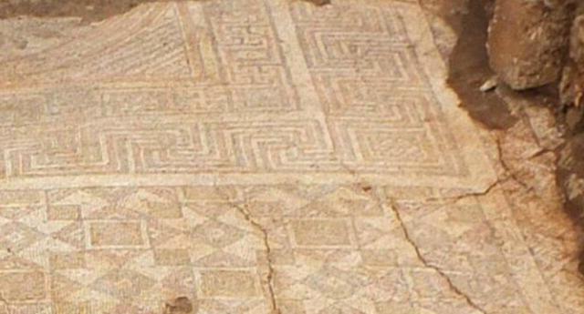 Mozaikler koruma altına alındı