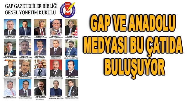 GAP Gazeteciler Birliği'nde yeni dönem