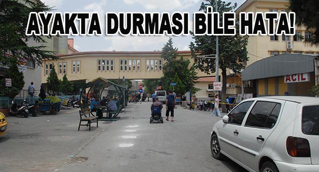 Dr. Ersin Arslan Hastanesi, tel tel dökülmeye başladı