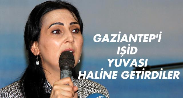 Yüksekdağ partisinin iftarında konuştu