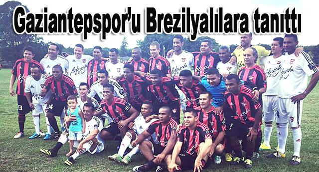 Abuda, Gaziantepspor'un tanıtımını yapıyor