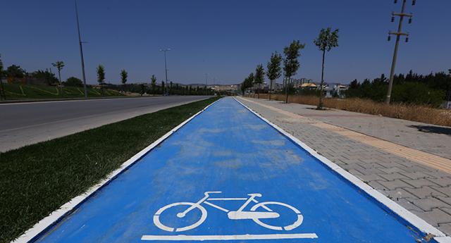 Bisiklet yolu büyüyor