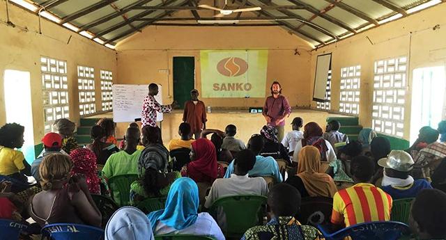 Sanko Afrika ülkelerinin yanında