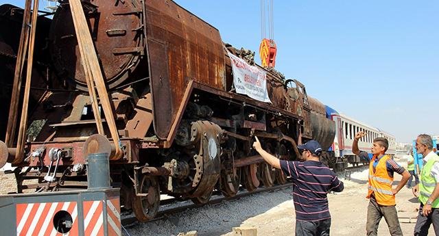 Buharlı lokomotifler müze oluyor