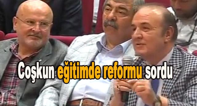 Reform paketi olup olmadığını sordu