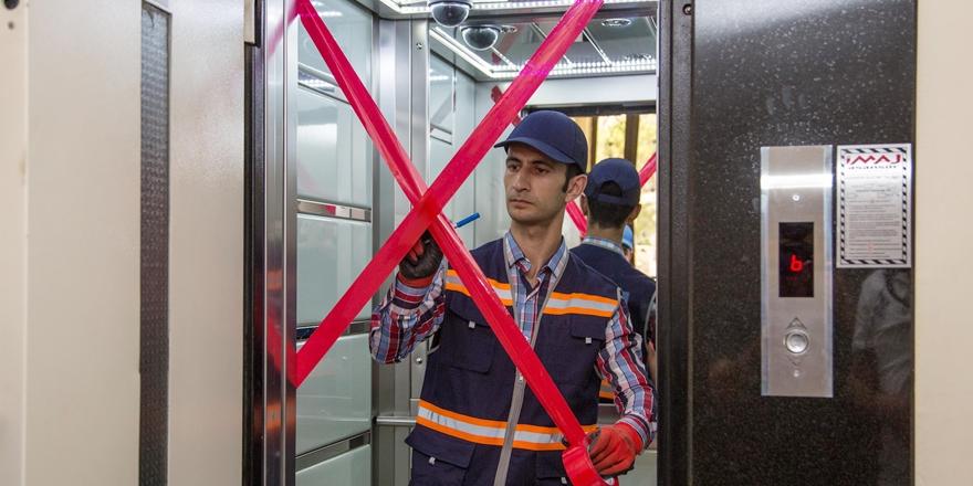 Şehitkamil'de asansör denetimi başlatıldı