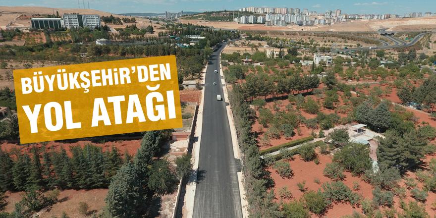 Büyükşehir'den yol atağı