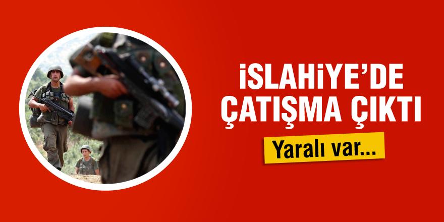 İslahiye'de PKK ile çatışma: 1 yaralı
