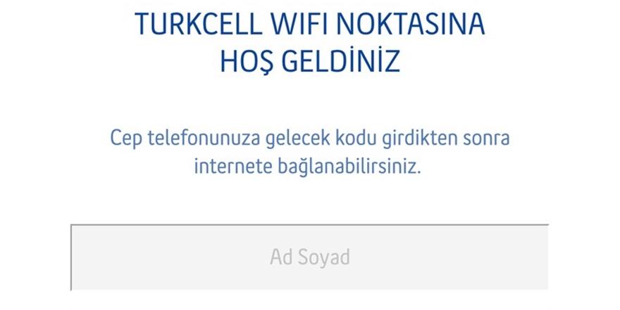 Turkcell'den meydanlarda ücretsiz WiFi