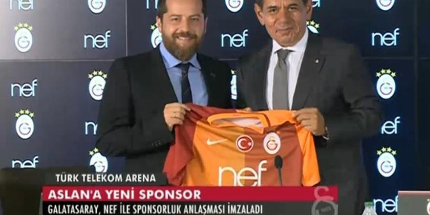 Galatasaray'a dev sponsor: 52.5 milyon TL!