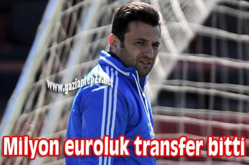 Milyon euroluk transfer bitti