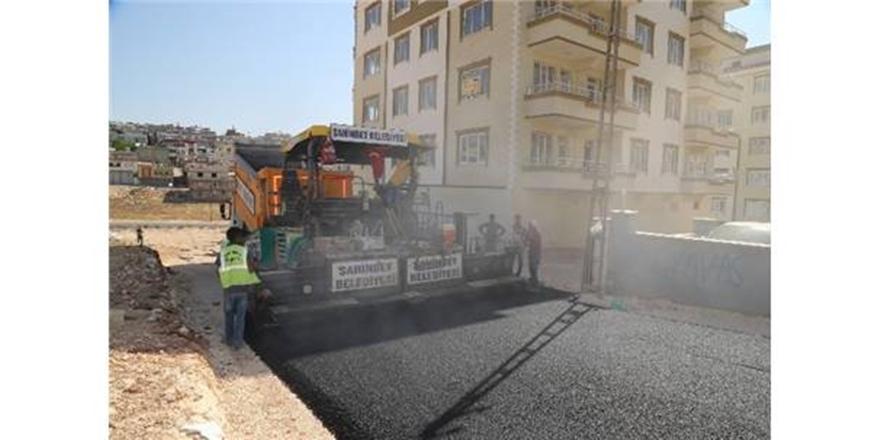 Şahinbey'de asfalt çalışmaları