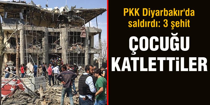 Diyarbakır'da büyük patlama!