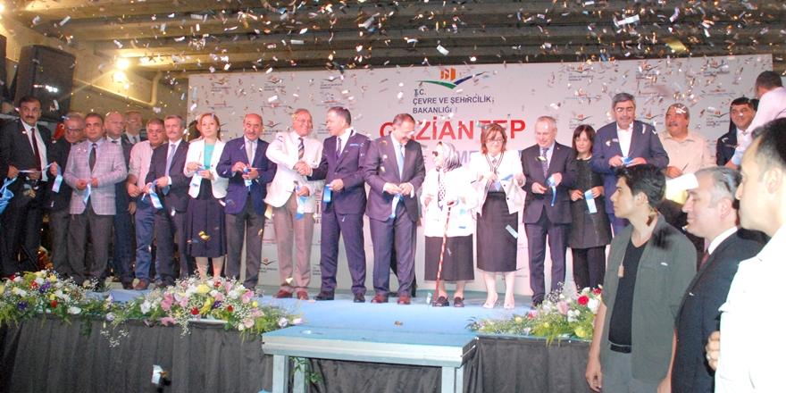 Güzelbey Köprülü Kavşak'ı Bakan Özhaseki açtı
