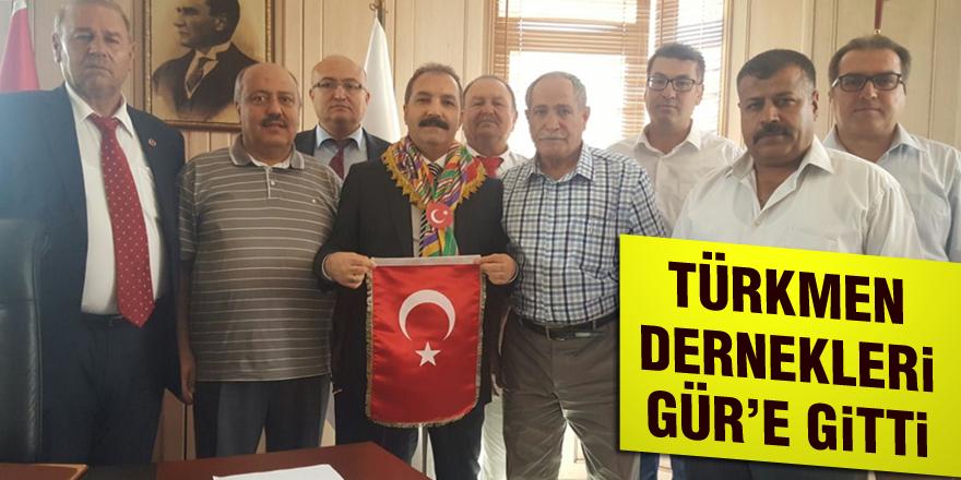 Türkmen Dernekleri Gür'e gitti
