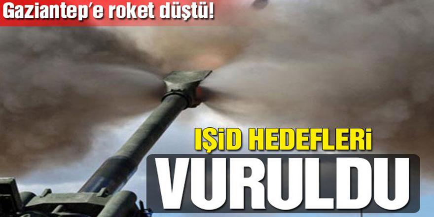 Kilis'ten sonra şimdi de Gaziantep'e roket düştü