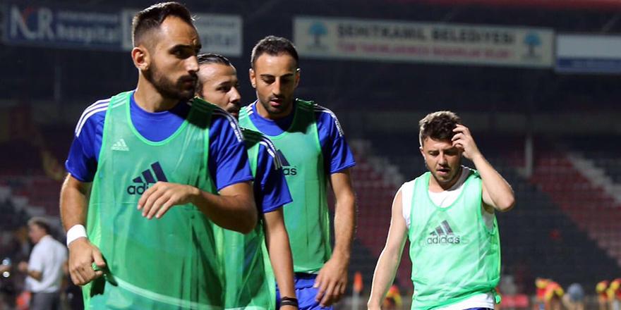 Büyükşehir Gaziantepspor, beraberlikle başladı 1-1
