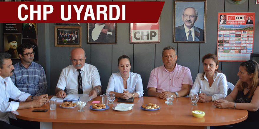 CHP UYARDI