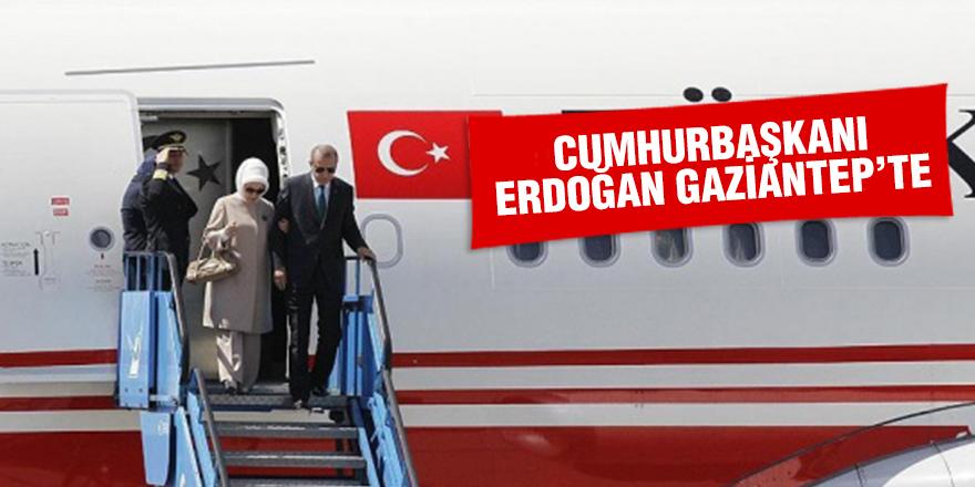 Cumhurbaşkanı Erdoğan, Gaziantep te