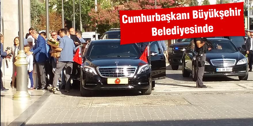 Cumhurbaşkanı Büyükşehir belediyesinde