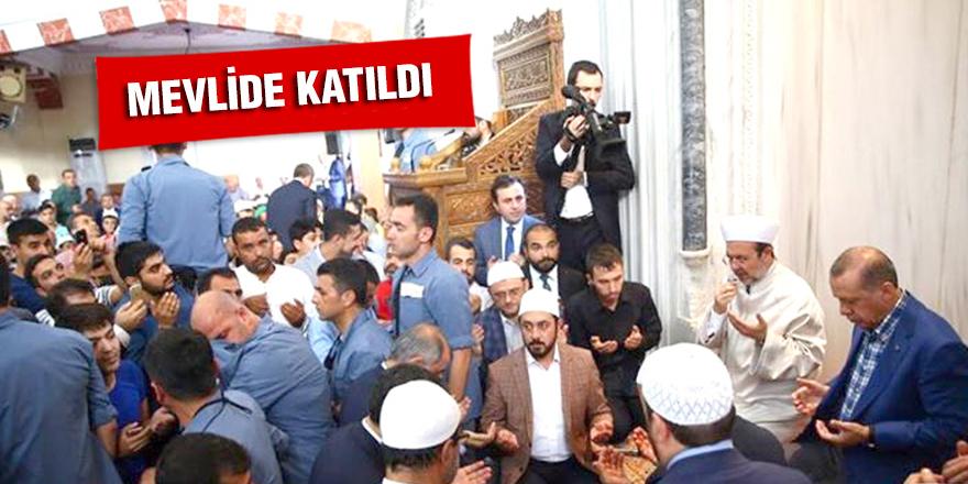 MEVLİDE KATILDI