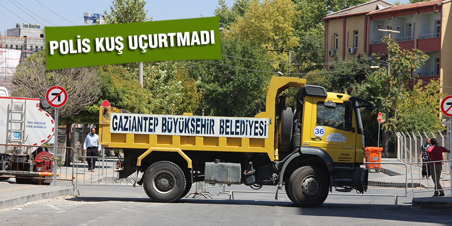 POLİS KUŞ UÇURTMADI