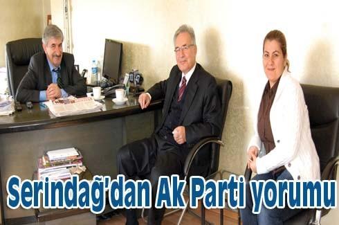 Serindağ'dan Ak Parti yorumu