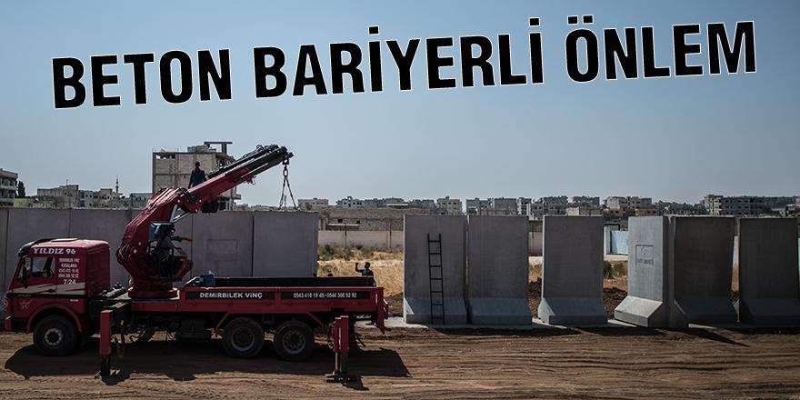 BETON BARİYERLİ ÖNLEM