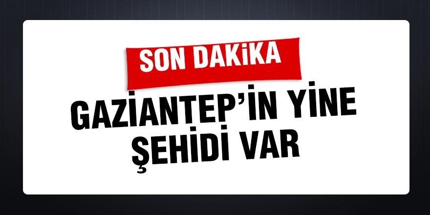 Gaziantep'in yine şehidi var