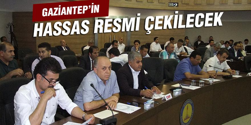 GAZİANTEP'İN HASSAS RESMİ ÇEKİLECEK