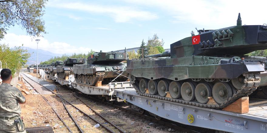 Gaziantep'e çevre illerden tank sevkıyatı