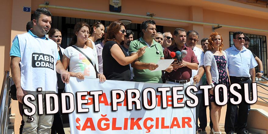 ŞİDDET PROTESTOSU