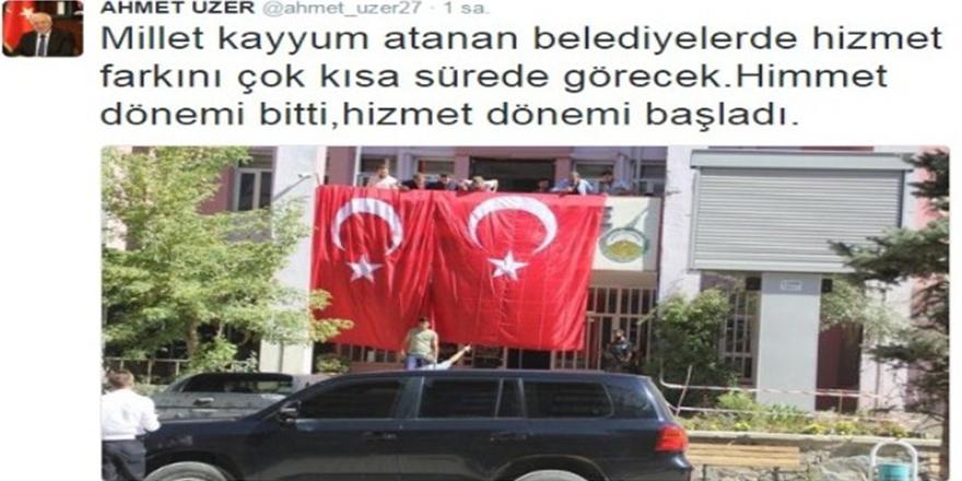 Milletvekili Ahmet Uzer'den 'kayyum' açıklaması