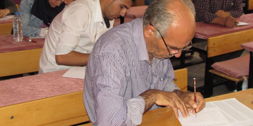 Suriyeli öğretmenler sınavdan geçti