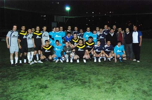 Winmar halı saha futbol turnuvası start aldı