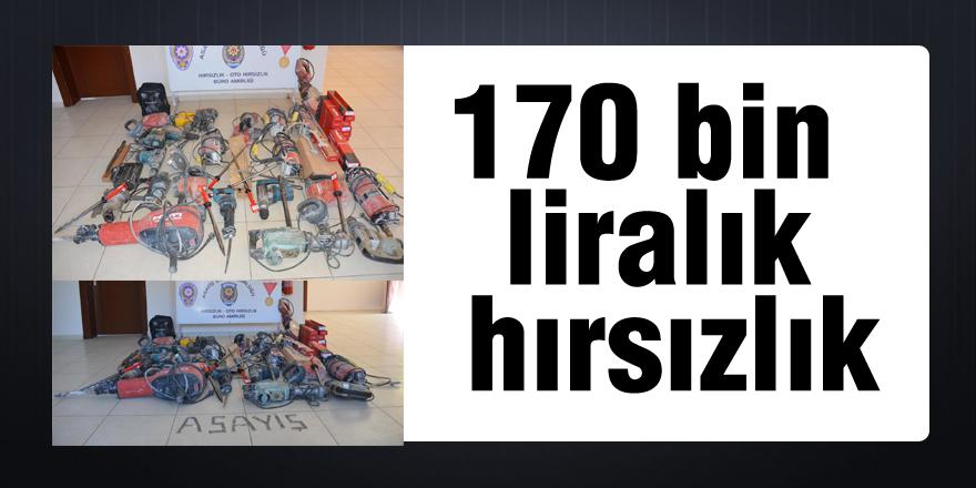 170 bin liralık hırsızlık yapan dayı ile yeğeni yakalandı