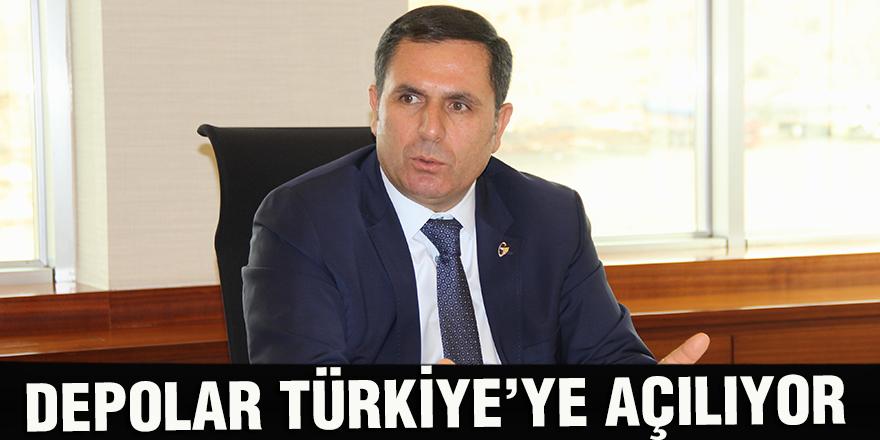 DEPOLAR TÜRKİYE'YE AÇILIYOR