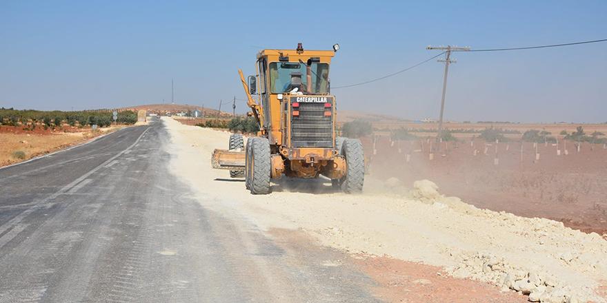 Elbeyli-Gaziantep yolu tam gaz