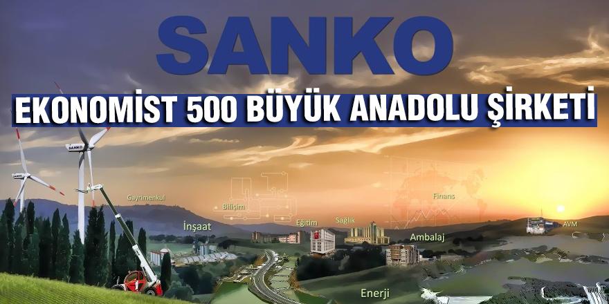 Ekonomist 500 büyük Anadolu şirketi