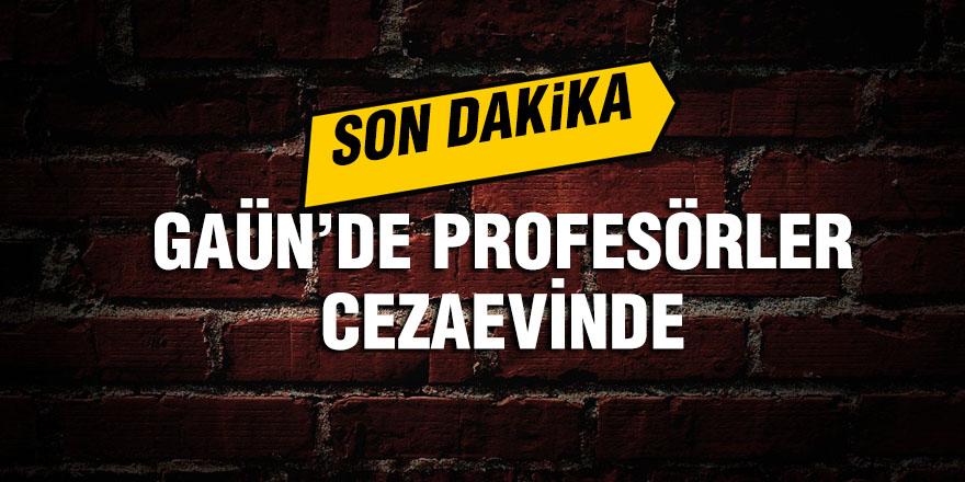 Gaziantep Üniversitesinde FETÖ depremi!