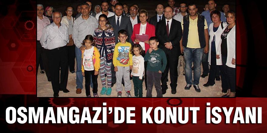 Osmangazi'de konut isyanı